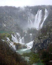 Plitvice Lakes in Croatia. Remembering October 1991, with Mom in Bethel, Maine. I remember her excitement as she described her delight and exploration of Plitvice Lakes...