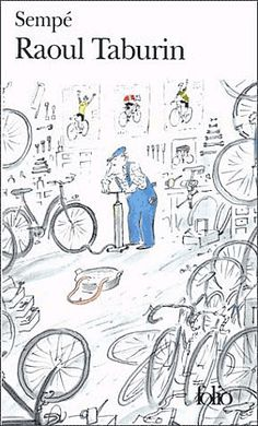 Bicycling Illustrations by Jean-Jacques Sempé