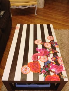 Lacquer of Luxury: Weekend DIY: coffee table makeover