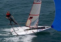 fastest+sailing+dinghies | We look at the action packed Musto Skiff class