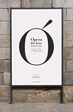 Ópera DeArte 2014 / Identidad Diseño de identidad visual para Ópera DeArte, Festival de Ópera en el Palacio Ducal de Medinaceli (Soria). Imágenes Pep Carrió / Sr.García.