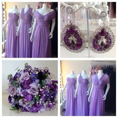 Multiway dress in lilac