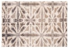 """9'10""""x14' Modern Hand-Knotted Rug, Gray/Beige $6,195.00"""