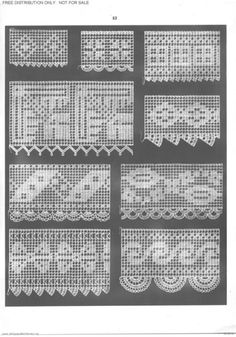 This Pin was discovered by Nur Filet Crochet Charts, Crochet Borders, Crochet Cross, Crochet Diagram, Thread Crochet, Knit Or Crochet, Crochet Motif, Crochet Doilies, Crochet Stitches