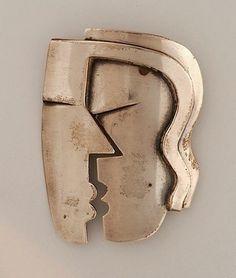 Francisco Rebajes, The Kiss, brooch, 1940