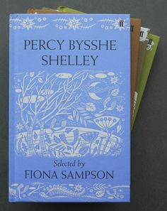 Angie Lewin, Percy Bysshe Shelley  Book jacket design for Faber