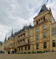 (Europe)  Grand-Ducal Palace in Luxembourg city @Luxembourgtravel.com.