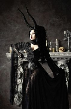 Evil witch haute couture ..