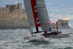 America's cup World Series - Luna Rossa and Naples