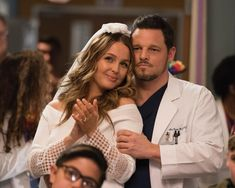 Grey's Anatomy Lexie, Greys Anatomy Alex, Greys Anatomy Couples, Grey's Anatomy Season 14, Alex And Jo, Justin Chambers, Hot Doctor, Camilla Luddington, Netflix