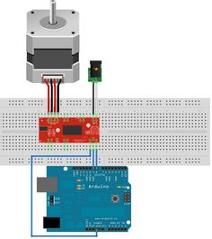 Example code for Easy Driver - Arduino and chipKIT code mostly Arduino Motor Control, Arduino Stepper, Diy Cnc, Stepper Motor, About Me Blog, Electronics, Programming, Montages, Robotics