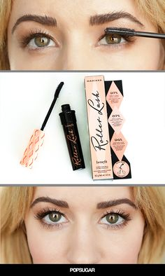 No Lash Curler Needed! Check out Benefit Cosmetics new mascara!