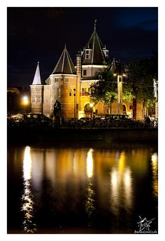 Amsterdam by night by Marcus Buns on 500px