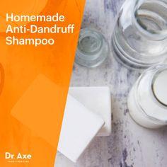 Anti-dandruff shampoo - Dr. Axe