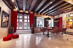 Studio Loft in Stockholm, Sweden // Dining area