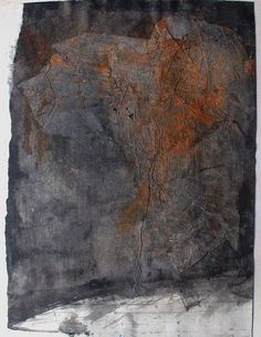 "Scott Bergey  ""Names""    Irregular dimensions mixed media on paper mounted on 14 x 11 paper. February 2011"