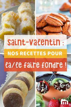 Recettes de Saint-Valentin pour la/le faire fondre ! /// #recette #saintvalentin #amour #cuisine #marmiton #amour