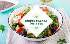 Görög saláta öntetek, olívaolajjal, joghurttal, balzsamecettel. Tableware, Yogurt, Dinnerware, Tablewares, Dishes, Place Settings
