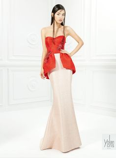 YolanCris | Red carpet dresses ss couture 2015