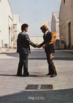 Pink Floyd Wish You Were Here Extra stor affisch