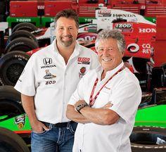 Michael & Mario Andretti