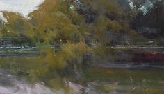 """Delta Morning by Simon Addyman Oil ~ 14"""" x 24"""""""