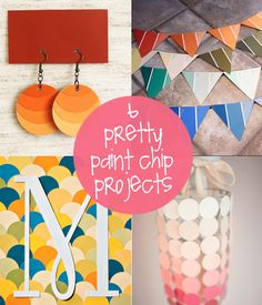 paint chip projects