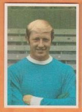 George Heslop of Man City in 1968.
