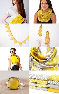 Yellow  by badaradio on Etsy--Pinned with TreasuryPin.com