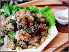蒜香椒鹽炸蚵酥