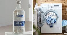 Det här är varför du borde tvätta dina kläder med ättika – anledningen är genialisk Smart Water, Washing Machine, Laundry, Water Bottle, Home Appliances, Inspiration, Health, Fitness, Tips