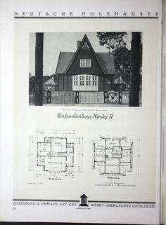 Deutsche Holzhauser. Katalog XXIII.