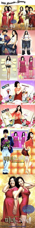 200 Pounds Beauty (미녀는 괴로워) Kmovie 2006 / Kim A-Joong / Joo Jin-Mo / Ji Seo-Yun / Kim Hyun-Suk / Lee Han-Wi