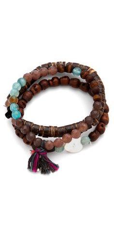 Chan Luu  Stretch Bracelet Set