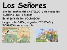 La edad media Medieval Knight, Middle Ages, Castle, Reyes, Words, Learn Spanish, Sugar Skull Art, Autumn Trees, Getting To Know