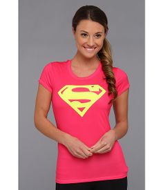 Under Armour Supergirl Fitted T-Shirt
