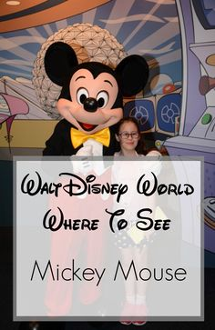 Have you ever wondered where to see Mickey Mouse at Walt Disney World? He can be found in plenty of places from the parks to resorts.