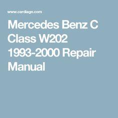 Mercedes benz c class mercedes benz and benz for Mercedes benz c class owners manual