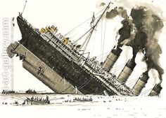 The Great Steamers The sinking of the Lusitania by John S. Smith