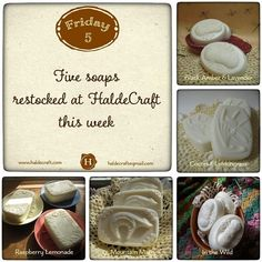Psst! I make soap. You use soap. It's a match made in heaven - especially since I just restocked some shop favorites! http://ift.tt/1U4w4fp