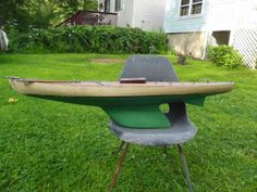 Orig-Vintage-Large-50-A-J-FISHER-PLANKED-HULL-RACING-POND-YACHT-SAILBOAT (761)