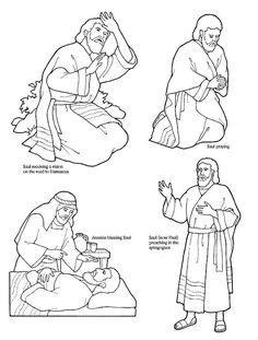 Apostle Paul Crafts | Lesson 42: The Conversion of Saul | LDS Lesson Ideas