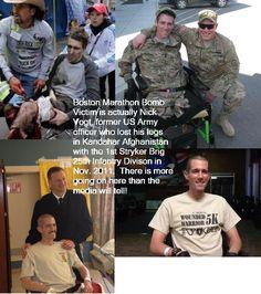 This Showed Up On Facebook, Boston Marathon Crisis Actors? Repeat Of Sandy Hook? (Photo's) | Alternative