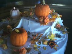 Pumpkin patch cakes by Retro Bakery in Las Vegas, so cute