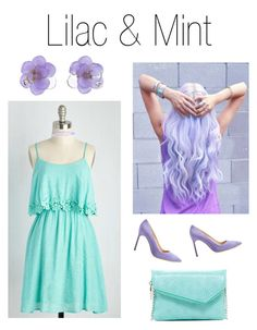 """""""Lilac and Mint"""" by xnellyx on Polyvore featuring Mode, Manolo Blahnik, Monsoon, Chanel und HOBO"""