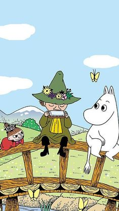 Cartoon Wallpaper, Moomin Wallpaper, Iphone Wallpaper, Little My Moomin, Tove Jansson, Moomin Valley, Moomin Tattoo, Book Illustration, Lettering