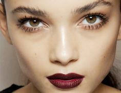 Ask A Makeup Artist: How Can I Pull Off Dark Lips During Summer? via @byrdiebeauty