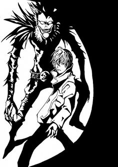 Tags: DEATH NOTE, Ryuk, Yagami Raito