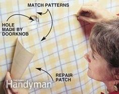 How to Repair Damaged Wallpaper | The Family Handyman