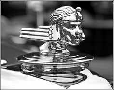 Stutz Hood Ornament
